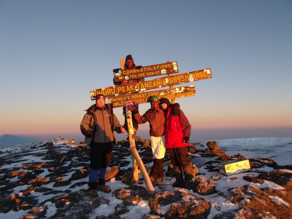 Ascension du Kilimandjaro Tanzanie