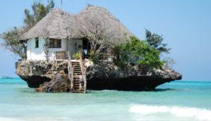Que faire à Zanzibar : Restaurant The rock