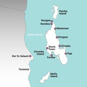Carte de Zanzibar