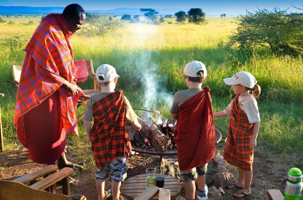 Enfant en safari Tanzania Specialist
