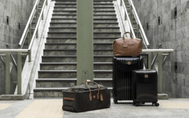 sac valise en safari